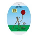 scout weather Ornament (Oval)