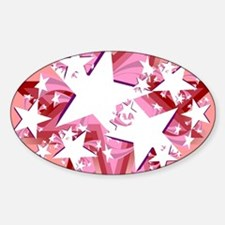 Star Power  Sticker (Oval)
