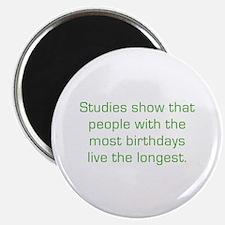 Most Birthdays Magnet