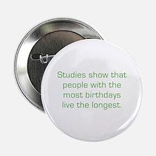 """Most Birthdays 2.25"""" Button (10 pack)"""