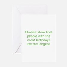 Most Birthdays Greeting Cards (Pk of 10)