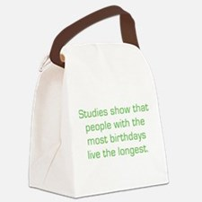 Most Birthdays Canvas Lunch Bag