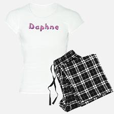 Daphne Pink Giraffe Pajamas