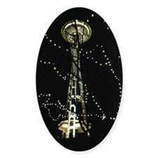 Seattle Space Needle Decal