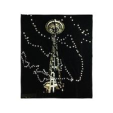 Seattle Space Needle Throw Blanket