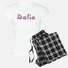 Dalia Pink Giraffe Pajamas