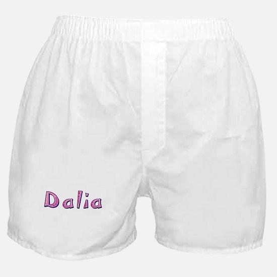 Dalia Pink Giraffe Boxer Shorts