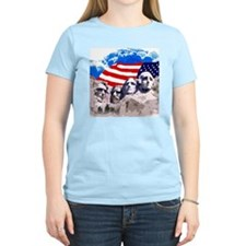 Mount Rushmore with American T-Shirt