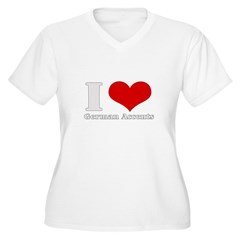 i love heart germna accents T-Shirt