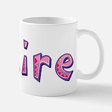 Claire Pink Giraffe Mugs
