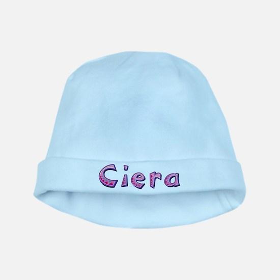 Ciera Pink Giraffe baby hat