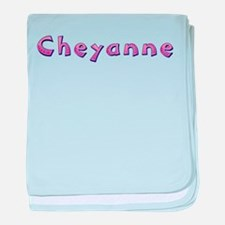 Cheyanne Pink Giraffe baby blanket