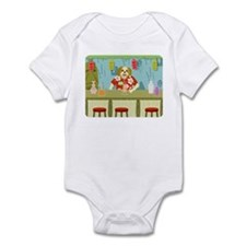 Shih Tzu Tiki Bar Infant Bodysuit