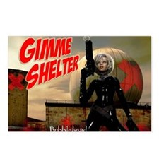 Bubblehead Gimme Shelter Postcards (Package of 8)