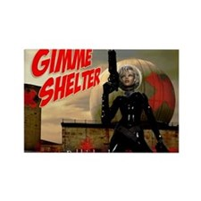 Bubblehead Gimme Shelter Magnets