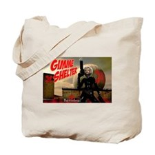 Bubblehead Gimme Shelter Tote Bag