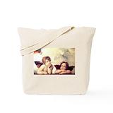 Raphael angels Canvas Bags