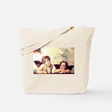 Raphael - Sistine Madonna Tote Bag