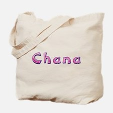 Chana Pink Giraffe Tote Bag