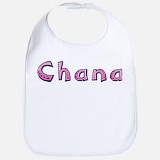 Chana Pink Giraffe Bib