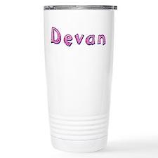 Devan Pink Giraffe Travel Mug