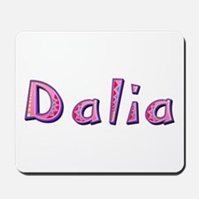 Dalia Pink Giraffe Mousepad