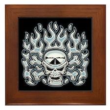 Cold Fire Framed Tile