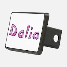 Dalia Pink Giraffe Hitch Cover
