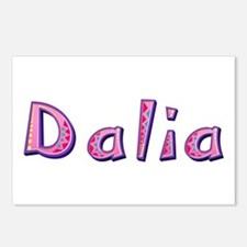 Dalia Pink Giraffe Postcards 8 Pack