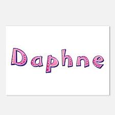 Daphne Pink Giraffe Postcards 8 Pack
