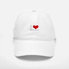 i love heart arabian accents Baseball Baseball Cap