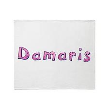 Damaris Pink Giraffe Throw Blanket