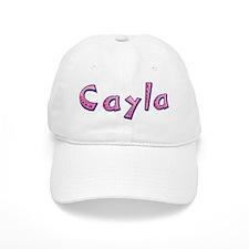 Cayla Pink Giraffe Baseball Baseball Cap