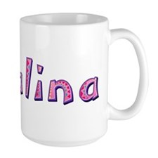 Catalina Pink Giraffe Mugs