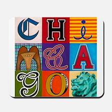 Chicago Sculptures Mousepad