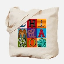 Chicago Sculptures Tote Bag
