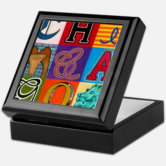 Chicago Sculptures Keepsake Box