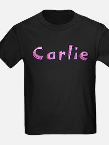 Carlie Pink Giraffe T-Shirt