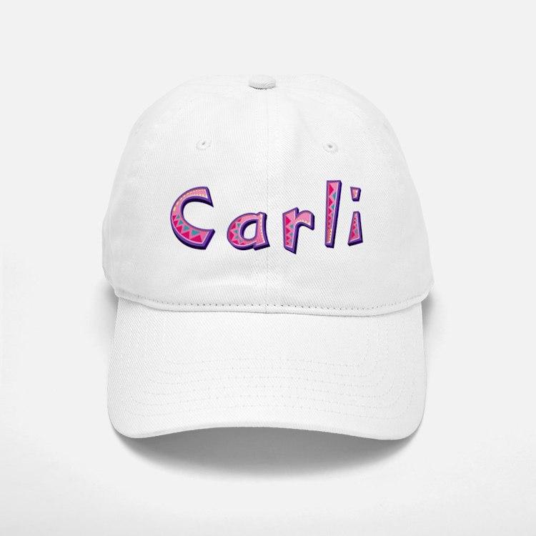 Carli Pink Giraffe Baseball Baseball Baseball Cap
