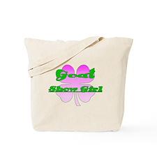 Goat Show Girl Tote Bag