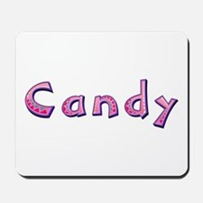 Candy Pink Giraffe Mousepad