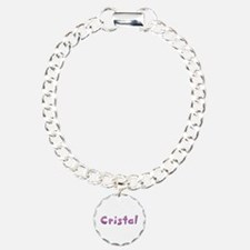 Cristal Pink Giraffe Bracelet