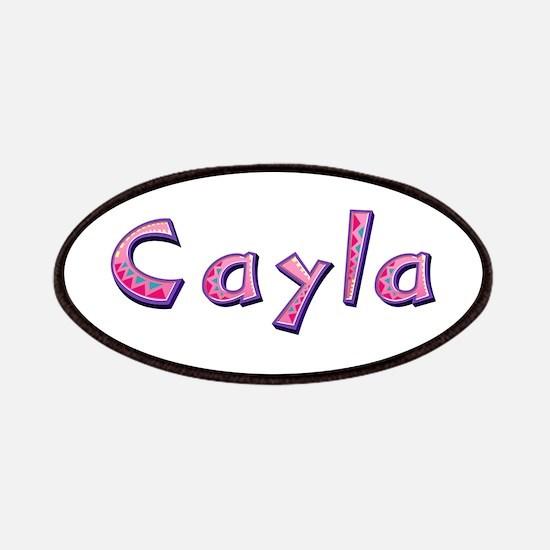 Cayla Pink Giraffe Patch