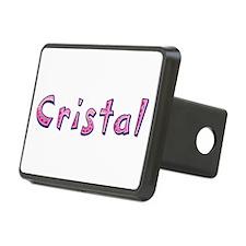 Cristal Pink Giraffe Hitch Cover