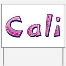 Cali Pink Giraffe Yard Sign