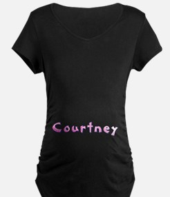 Courtney Pink Giraffe T-Shirt