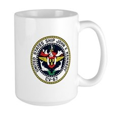 USS JFK (CV 67) Mugs