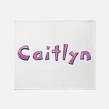 Caitlyn Pink Giraffe Throw Blanket