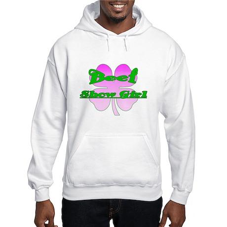 Beef Show Girl Hooded Sweatshirt