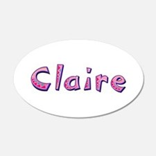Claire Pink Giraffe Wall Decal